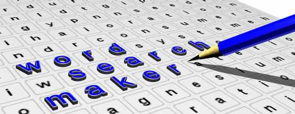 Free interactive wordsearch creation tool from teachers-direct